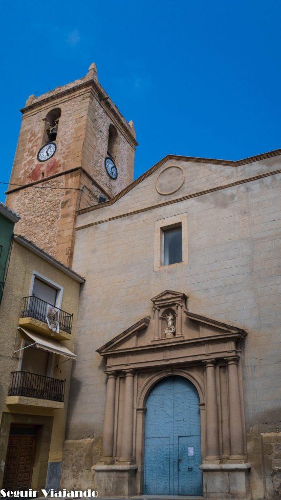 Iglesia-Fortaleza de Nuestra Señora de la Asunción Villajoyosa - Seguir Viajando