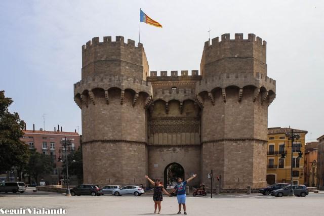 Torres de Serranos, qué ver en el centro de Valencia - Seguir Viajando