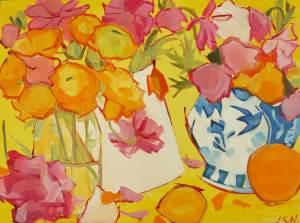 Yellow Chinoiserie, Lynne Millar
