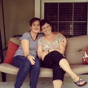 Andrea and Julie