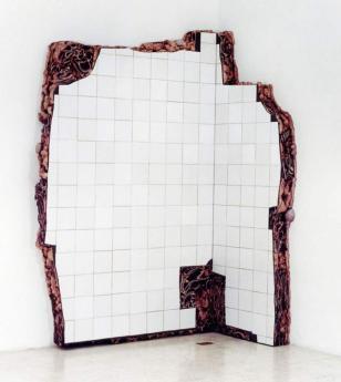 """Imagem: """"Ruína de Charque Santa Cruz (quina)"""", 2002, obra de Adriana Varejão."""