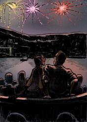 Segunda Vez, Brísida e Bartolomeu no barco