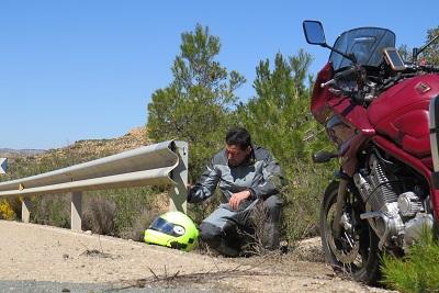 Durante el mes de Abril mueren 37 motociclistas y resultan heridos 108.