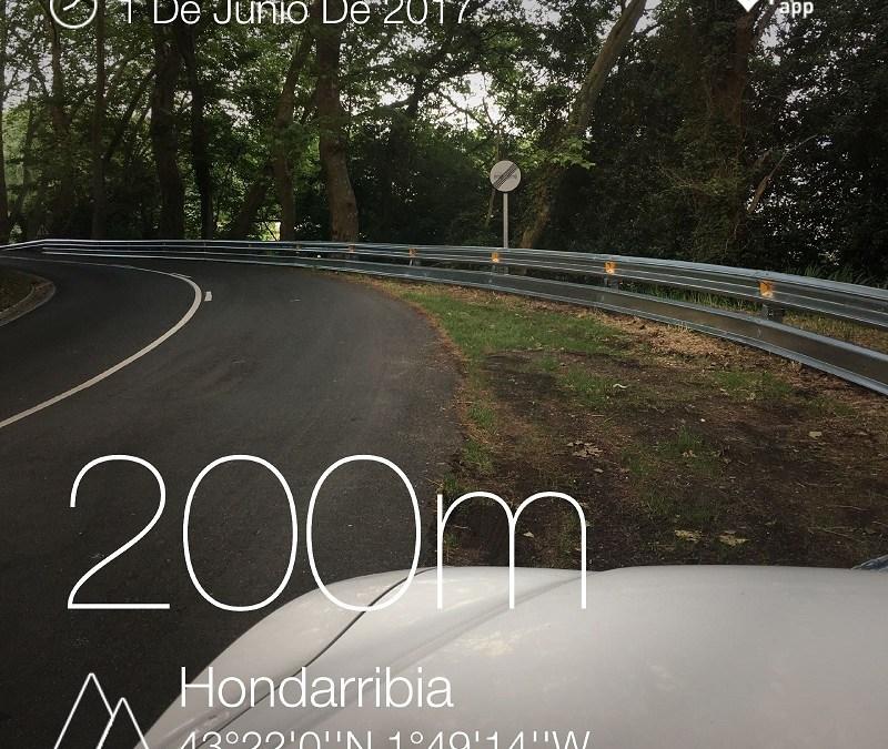 Más protección para motoristas. La GI 3440 en Guipuzkoa ha sido protegida por la Diputación Foral