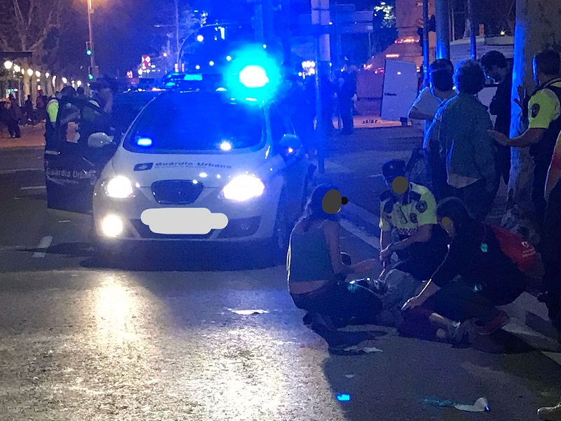 Más de 60.000 € y al menos 6 accidentes en la Diagonal por la cera… finalizado informe.