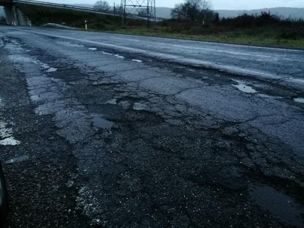 N-540 en Galicia… ¡un desastre! Se declara alerta ciudadana