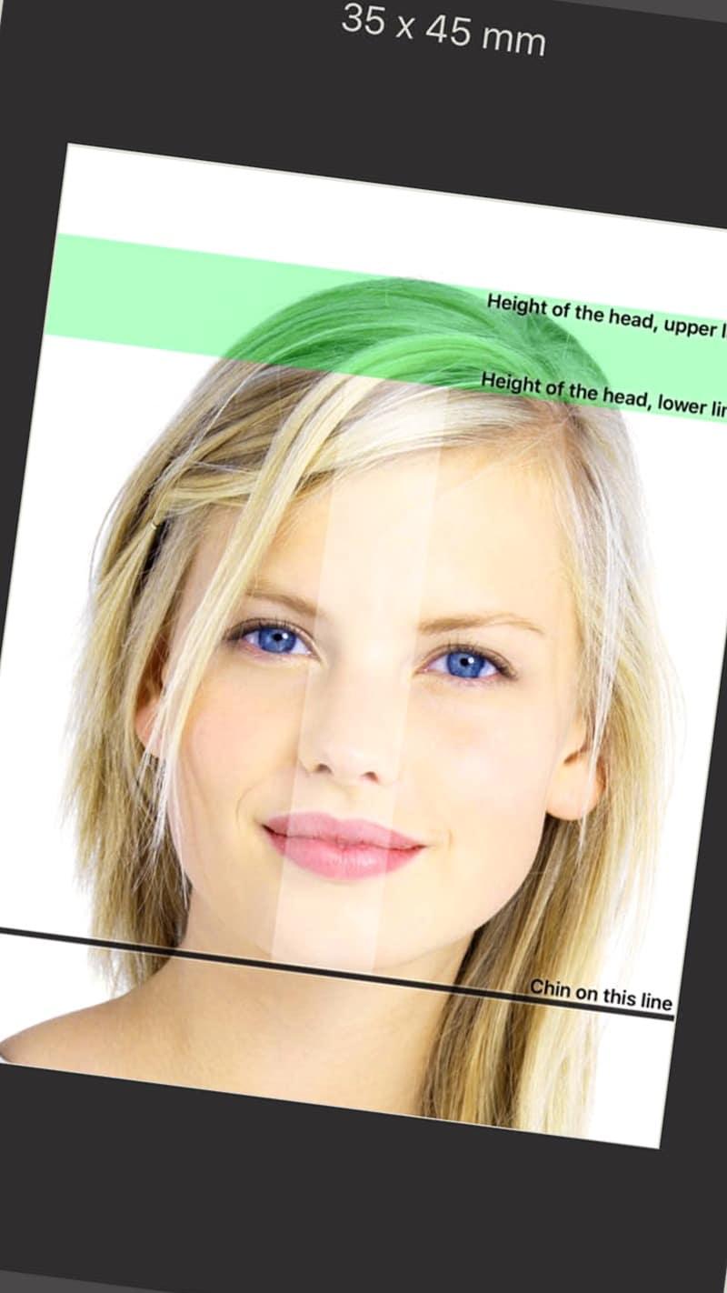 App fotos DNI o Pasaporte