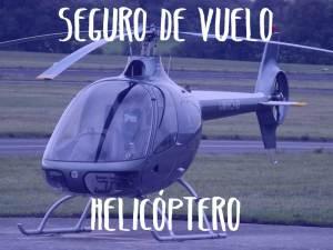 seguro de vuelo en helicoptero