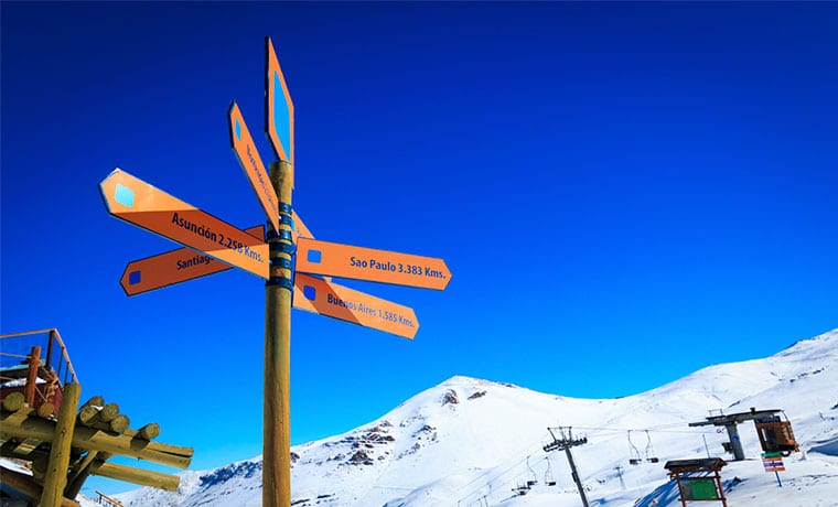 placa vale nevado chile