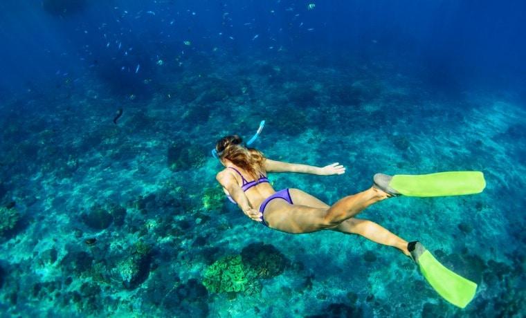 seguro viagem para mergulho snorkel