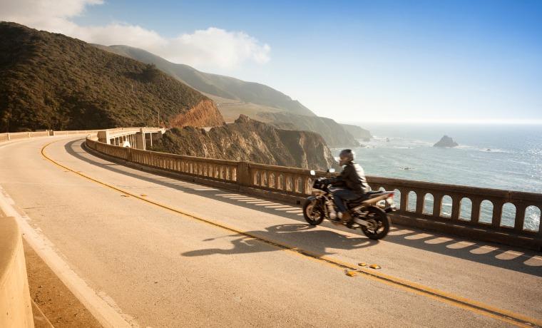 seguro viagem de moto ponte
