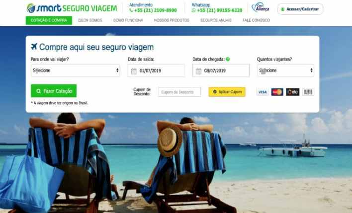 smart seguro viagem site oficial