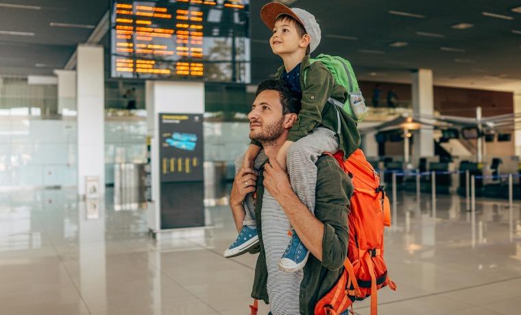 por que contratar seguro viagem pai e filho