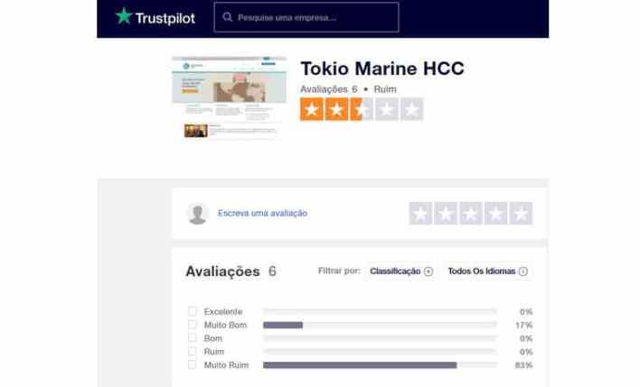 HCC Medical Insurance seguro de viagem Trustpilot