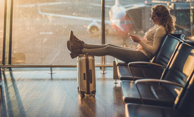 promoção seguro viagem aeroporto