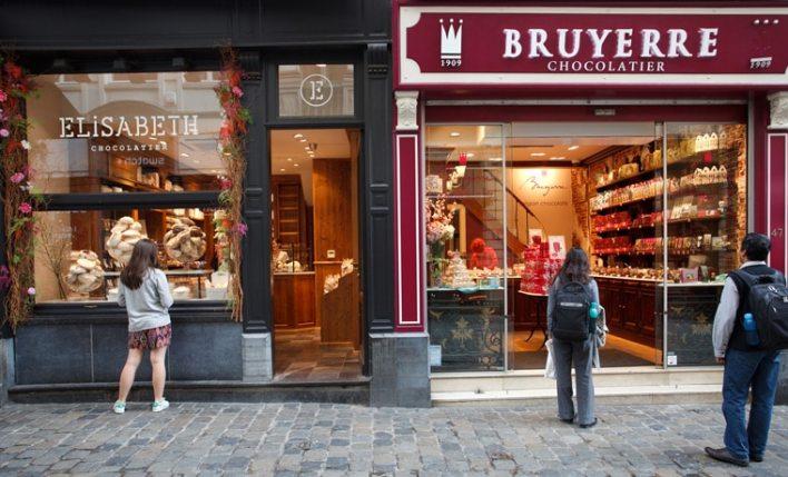 seguro viagem Bélgica chocolate