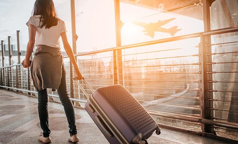 Seguro viagem para férias aeroporto