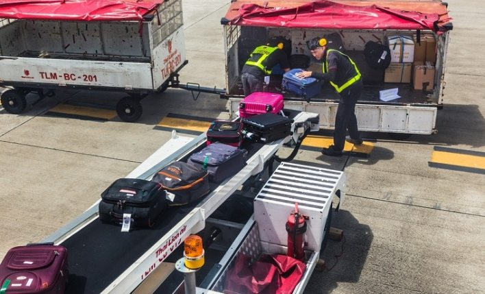 bagagem extraviada no transporte