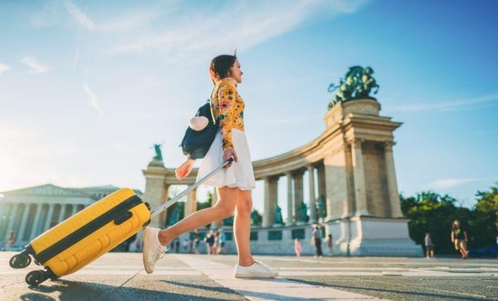 Estudante viajante