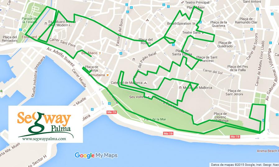 Ruta segway Palma Mallorca