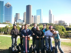 Segway Tours of Houston, Downtown Houston Texas