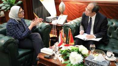 Photo of وزيرة الصحة تبحث مع الجانب الصيني تعزيز التعاون لمواجهة فيروس كورونا المستجد