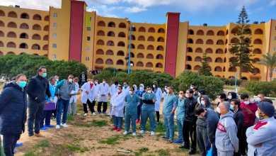 Photo of ننشر اول صور للمصريين العائدين من الصين من داخل فندق العزل فى مطروح