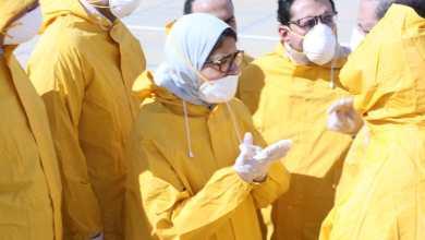 Photo of عاجل..بالصور ..وزيرة الصحة بمطار العلمين لمراجعة الإجراءات الوقائية لاستقبال المصريين القادمين من الصين