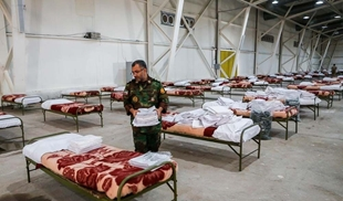 Photo of الجيش الايرانى يجهز مستشفى ميدانى لعلاج المصابين بفيروس كورونا