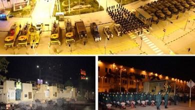 Photo of القوات المسلحة تنفذ عمليات التعقيم والتطهير الوقائى لميدان رمسيس ومحطة قطارات سكك حديد مصر