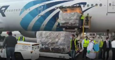Photo of وصول الشحنة الثالثة من المساعدات الطبية الصينية لمصر