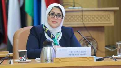 Photo of وزيرة الصحة توجه الشكر لمدير منظمة الصحة العالميه لاستجابته السريعة في دعم مصر بتطعيمات شلل الأطفال