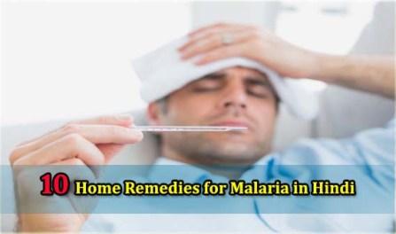 Malaria Ka ilaj, Home Remedies for Malaira in Hindi
