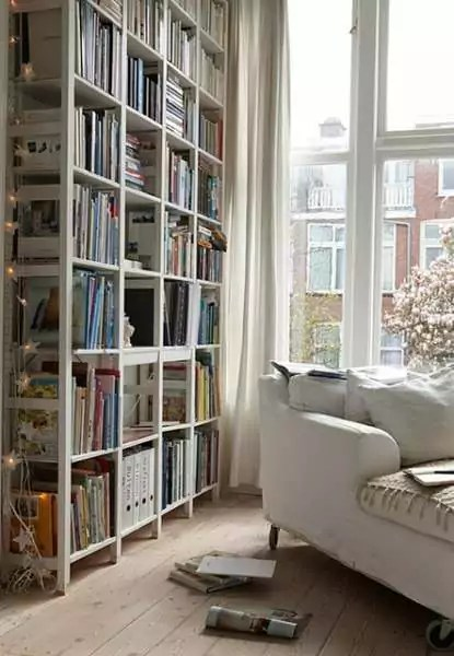 20 Scandinavian Bookshelves Ideas For