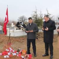 Kırıkkale  Milletvekili ve Şube Başkanı Şehit Ailesine Ziyaret.
