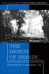 Cover image of The Design of Design by Frederick Brooks, Jr.