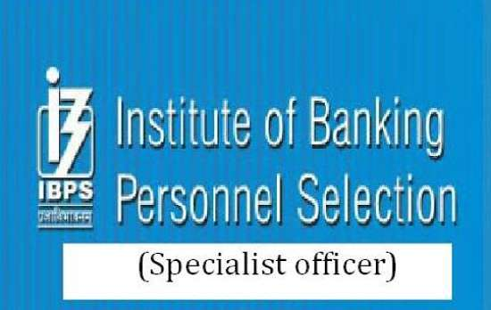 ibps specialist officer