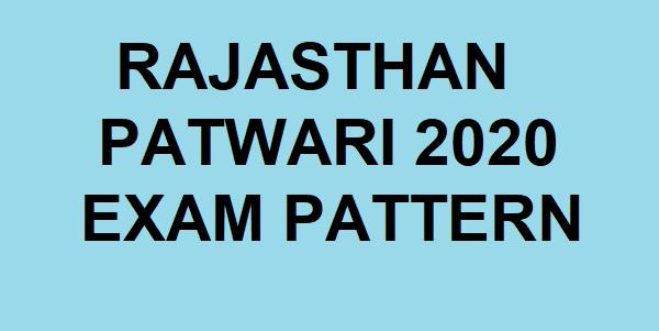 Rajasthan Patwari 2020
