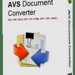 AVS Document Converter 4.2.6.272 Crack Plus Serial Key Free Download