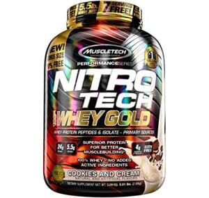 نيترو تك واي جولد أفضل أنواع بروتين مصل اللبن