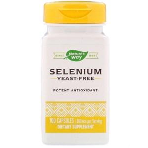 حبوب السيلينيوم للبشرة من ناتشورز واي