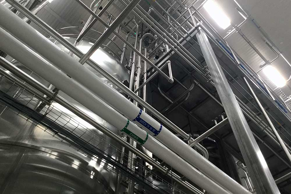 Expanding production at liquid flavoring facility