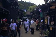 Straße in Takayama