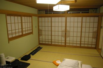 Hotelzimmer in Beppu