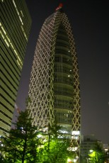 Cocoon at night