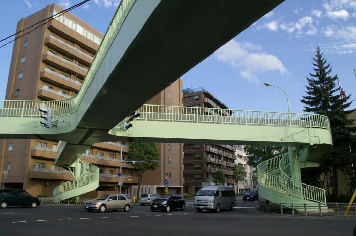 Pedestrian Deck - Sapporo