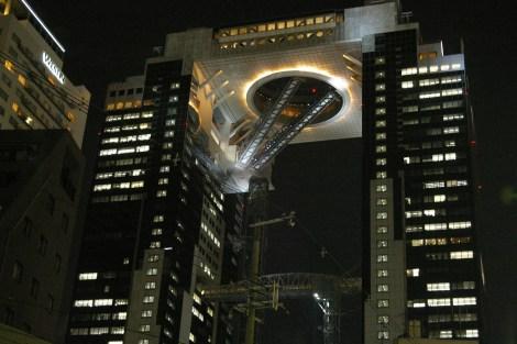 Umeda Sky Building nachts