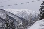 Mountains at Ainokura