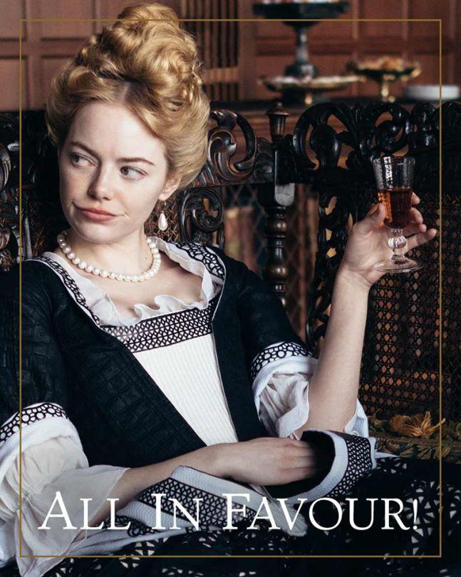 エマ・ストーン,女王陛下のお気に入り,美魔女