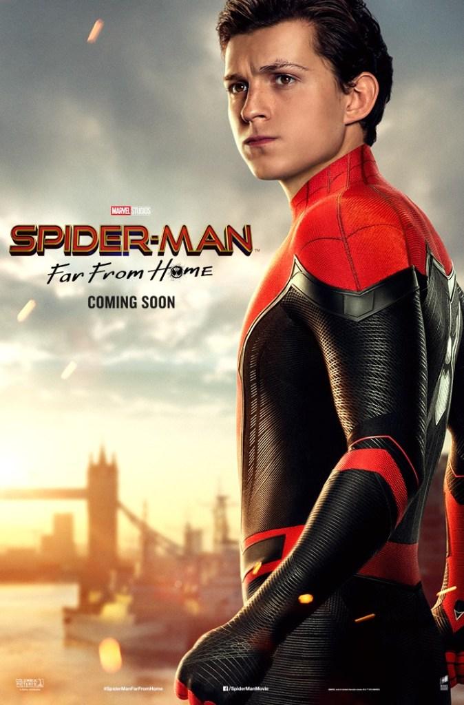 スパイダーマン,トム・ホランド,三代目